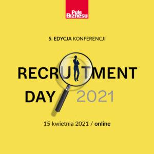 grafika logo Recruitment Day 2021