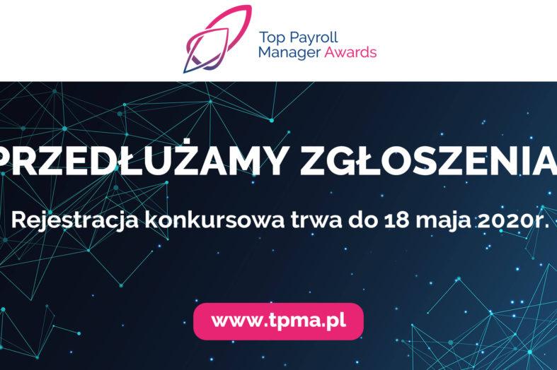 Zgłoszenia do konkursu Top Payroll Manager Awards przedłużone