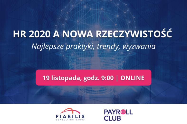 HR 2020 a nowa rzeczywistość. Bezpłatne spotkanie online
